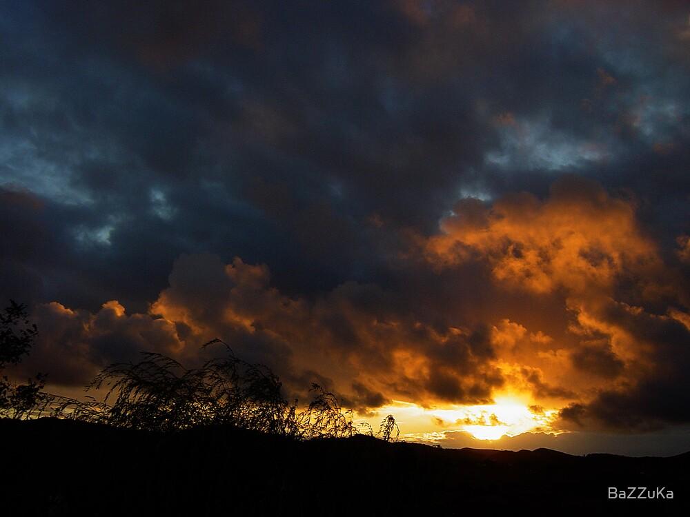 Sunset at Alentejo        by BaZZuKa