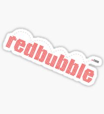 redbubble bounce Sticker