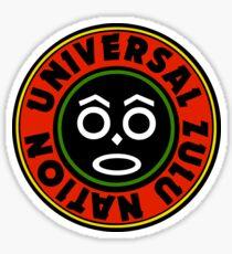 Bambaataa Universal Zulu Nation Sticker