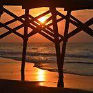 Surfside Pier Sunrise by Dawne Dunton