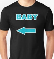 Pregnancy Announcement Blue Arrow Baby This is Us Shirt Unisex T-Shirt