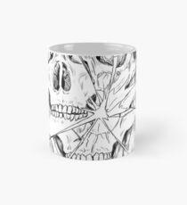 Shattered skull  Mug