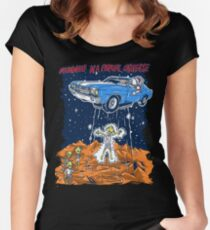 Parallel universe Women's Fitted Scoop T-Shirt