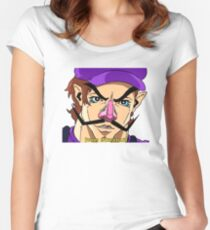 Waluigi Fitted Scoop T-Shirt
