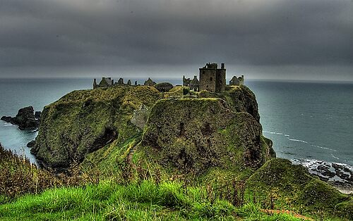 Dunnotar Castle by AA Fer