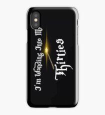 Turning Thirties iPhone Case