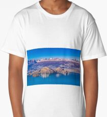 Lake and Mountains Landscape, Patagonia, Chile Long T-Shirt