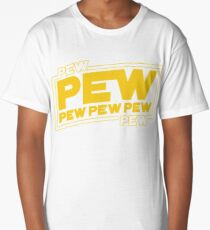 Star Wars Pew Pew! Long T-Shirt