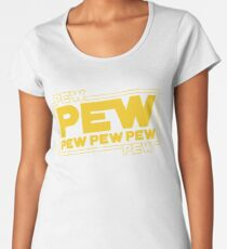 Star Wars Pew Pew! Women's Premium T-Shirt