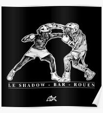 The Shadow - Bar - Rouen Poster