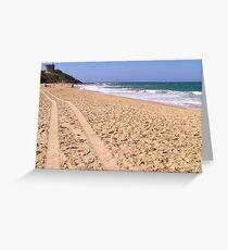 Point Cartwright Beach Australia Greeting Card