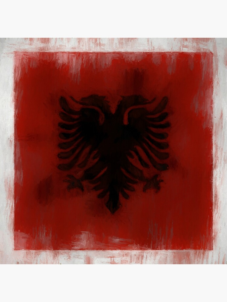 Albania Flag Reworked No. 2, Series 2 by 8th-and-f