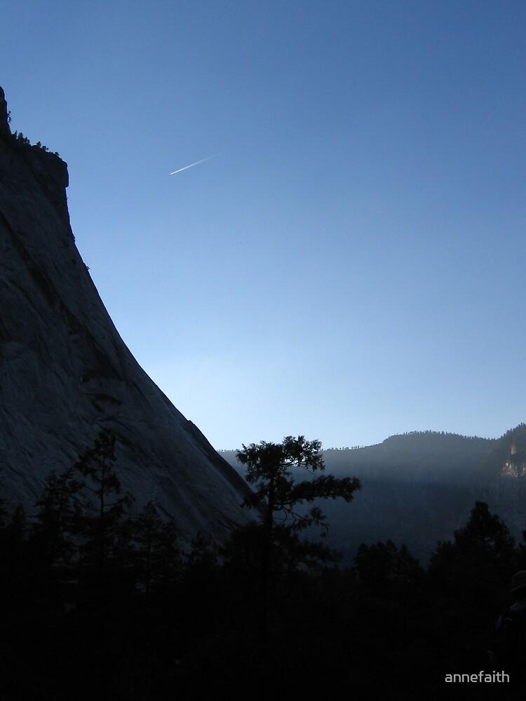 Dusk in Yosemite by annefaith