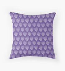 Pantone Colour of the Year 2018 ULTRA VIOLET Dragon/ Mermaid Scales Throw Pillow