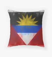 Antigua And Barbuda Flag Reworked No. 66, Series 1 Kissen