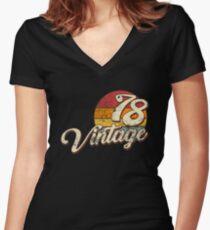 Jahrgang 1978 Shirt mit V-Ausschnitt
