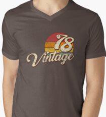Vintage 1978  Men's V-Neck T-Shirt