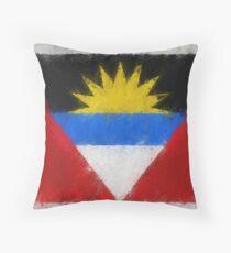Antigua And Barbuda Flag Reworked No. 66, Series 4 Kissen