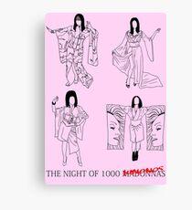 The Night of 1000 Kimonos Canvas Print