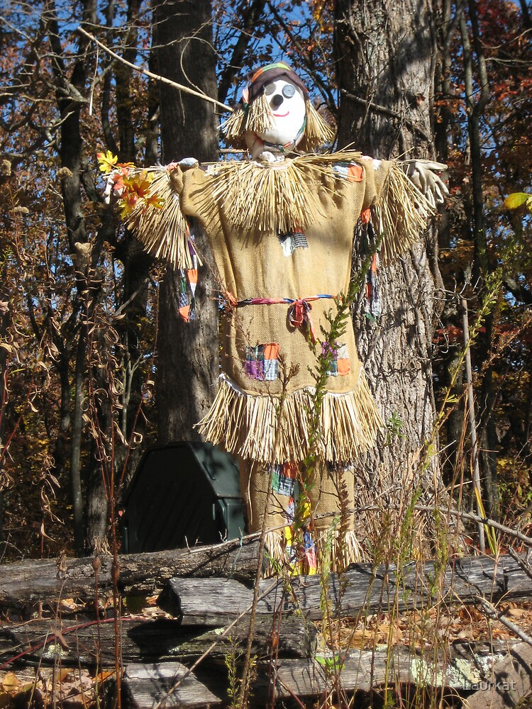 Cove Road scarecrow by Laurkat