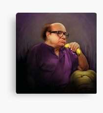 Frank Reynolds with Banana Canvas Print