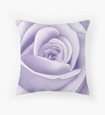 Pantone Colour of the Year 2018 ULTRA VIOLET Cascading Roses Throw Pillow