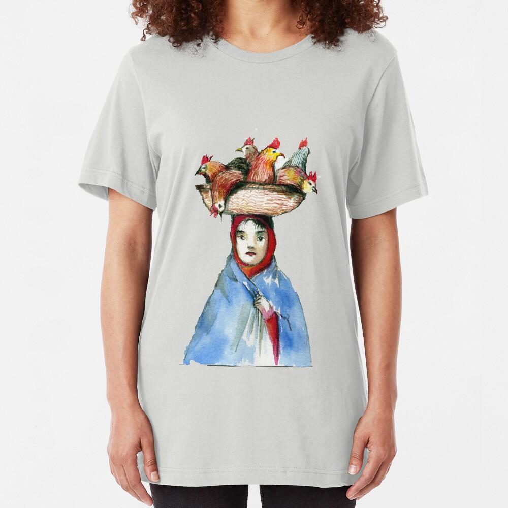 Chicken Head Slim Fit T-Shirt