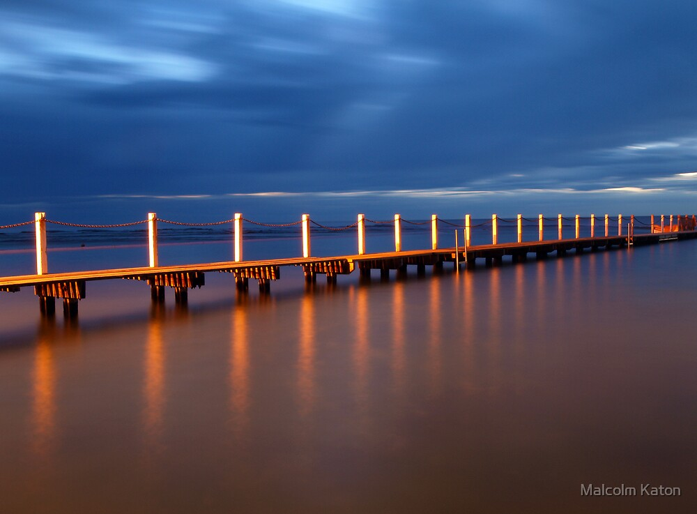Walk the Plank - Narrabeen, NSW by Malcolm Katon