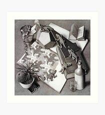 Escher Art Print