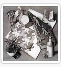 Pegatina Escher