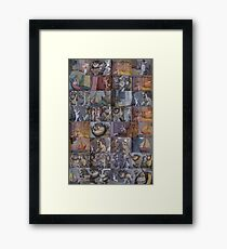 Where the Wild Things Are Montage Framed Print