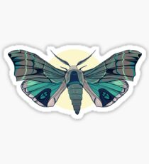 Jade Moth Sticker