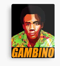 Childish Gambino The Great Comedian  Metal Print