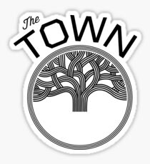 the town oakland Sticker