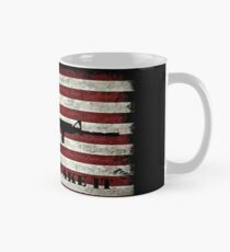 Come And Take It American Flag Distressed Shirt and Accesories Mug