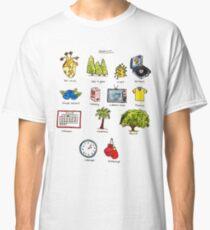 Camiseta clásica Landmark Doodle