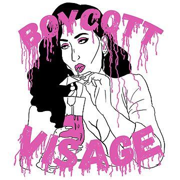 Boycott Visage by guirodrigues