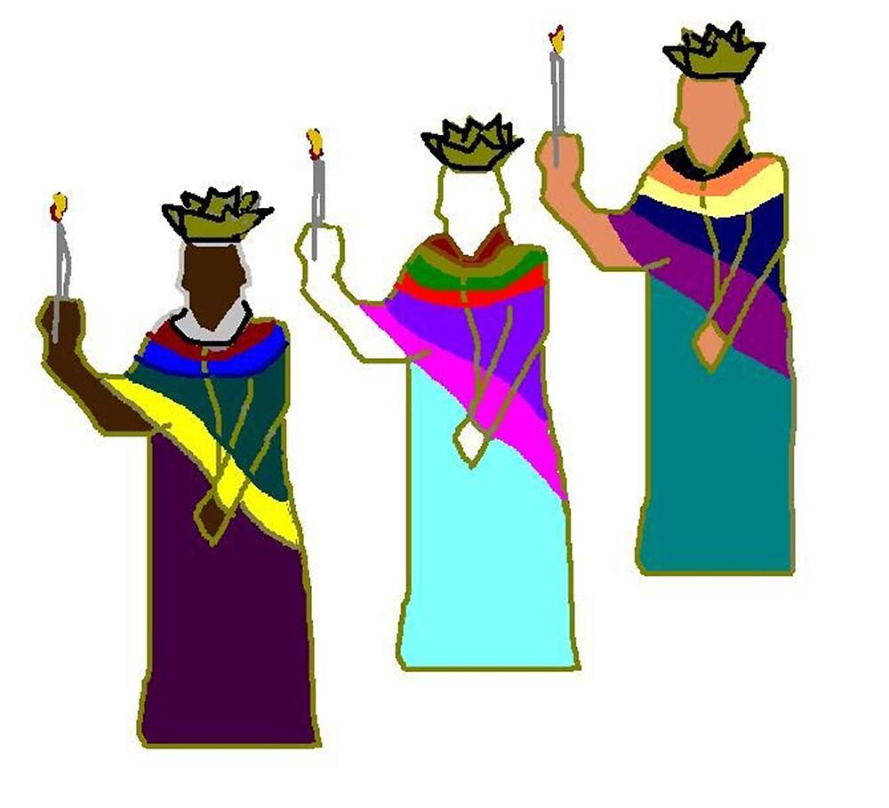 Three Kings by Carole Boyd
