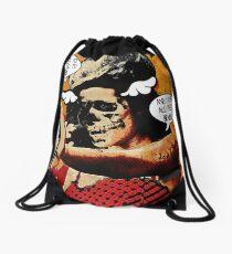 Zombie Amy Drawstring Bag