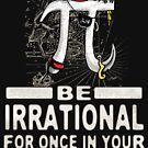 Swashbuckling Epic Pi Day Pirate Symbol by MudgeStudios