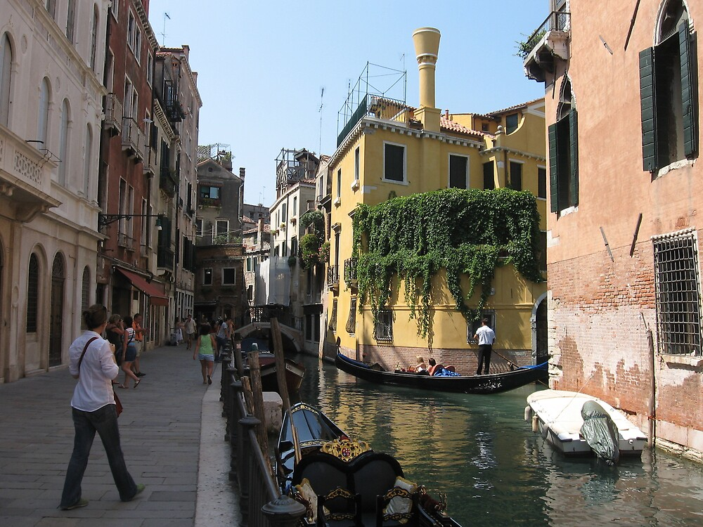 VENICE  the yellow house  by Paul Revell
