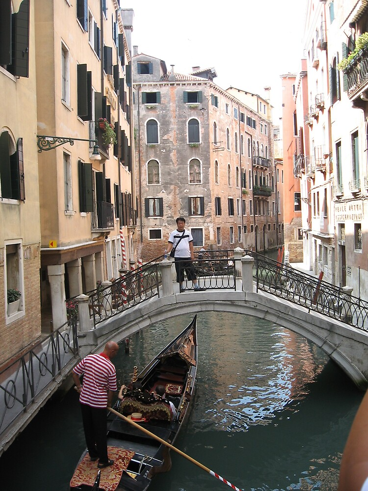 VENICE the low bridge  by Paul Revell