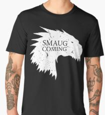 Smaug is coming Men's Premium T-Shirt