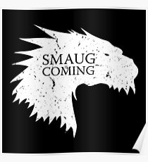 Smaug is coming Poster