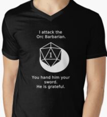 D20 Critical failure - Attack T-Shirt