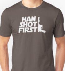 Han Shot First WR585 Trending Unisex T-Shirt
