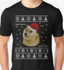 Funny Ugly Doge Shiba Christmas Sweater T-Shirts  T-Shirt
