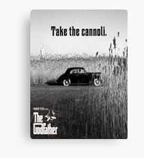 The Godfather Take the Cannoli Canvas Print