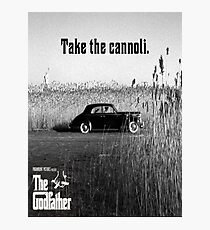 The Godfather Take the Cannoli Photographic Print