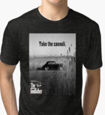The Godfather Take the Cannoli Tri-blend T-Shirt